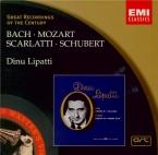 BACH - Lipatti - Partitas pour clavier BWV 825-830