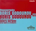 MOUSSORGSKY - Gergiev - Boris Godounov (versions 1869 et 1872) versions 1869 et 1872