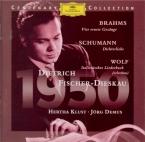 Lieder de Brahms, Wolf et Schumann