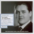 VERDI - Panizza - Un ballo in maschera (Un bal masqué), opéra en trois a live MET, 14 - 12 - 1940