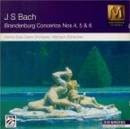 BACH - Scherchen - Concerto brandebourgeois n°4 pour orchestre en sol ma