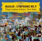 MAHLER - Boulez - Symphonie n°9