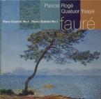FAURE - Rogé - Quintette avec piano n°1 en ré mineur op.89