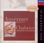 CHABRIER - Ansermet - Espana, pour deux pianos