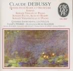 DEBUSSY - Pierre - Deux danses, pour harpe chromatique et orchestre à co
