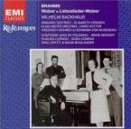 BRAHMS - Lipatti - Seize valses pour piano à quatre mains op.39