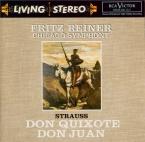 STRAUSS - Reiner - Don Quixote, pour violoncelle, alto et grand orchestr