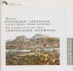MOZART - Hogwood - Sérénade n°9, pour orchestre en ré majeur K.320 'Post