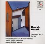 GORECKI - Leaper - Symphonie n°3 op.36 'Symphony of sorrowful songs'