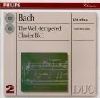 BACH - Gulda - Le clavier bien tempéré, Livre 1 BWV 846-869