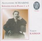 SCRIABINE - Kasman - Sonate pour piano n°1 op.6