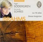 BRAHMS - Södergren - Seize valses pour piano à quatre mains op.39