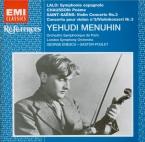 LALO - Menuhin - Symphonie espagnole op.21