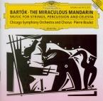 BARTOK - Boulez - Le mandarin merveilleux, pantomime pour chœur et orche