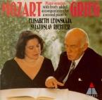 Sonates pour piano avec accompagnement librement composé par E. Grieg