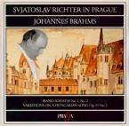 BRAHMS - Richter - Sonate pour piano n°1 en do majeur op.1