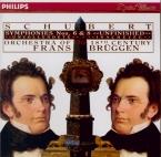 SCHUBERT - Brüggen - Symphonie n°8 en si mineur D.759 'Inachevée'