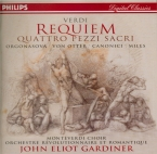 VERDI - Gardiner - Messa da requiem, pour quatre voix solo, choeur, et or