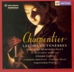 CHARPENTIER - Greuillet - Leçons de Ténèbres du Mercredi Saint H.135