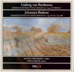 BRAHMS - Oistrakh - Sonate pour violon et piano n°1 en sol majeur op.78