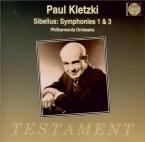 SIBELIUS - Kletzki - Symphonie n°1 op.39