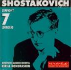 CHOSTAKOVITCH - Kondrashin - Symphonie n°7 op.60 'Leningrad'