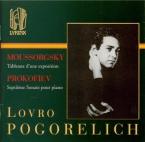 MOUSSORGSKY - Pogorelich - Tableaux d'une exposition, pour piano