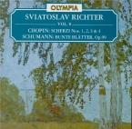 CHOPIN - Richter - Scherzo pour piano n°1 en si mineur op.20 (vol.8) vol.8