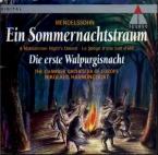 MENDELSSOHN-BARTHOLDY - Harnoncourt - Ein Sommernachtstraum (Le songe d'