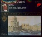 VERDI - Bernstein - Messa da requiem, pour quatre voix solo, choeur, et o