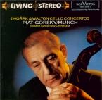 DVORAK - Piatigorsky - Concerto pour violoncelle et orchestre en si mine