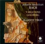 BACH - Verlet - Variations Goldberg, pour clavier BWV.988