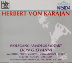 MOZART - Karajan - Don Giovanni (Don Juan), dramma giocoso en deux actes live Salzburg, 3 - 8 - 1960