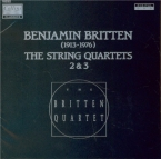 BRITTEN - Britten Quartet - Quatuor à cordes n°2 en do majeur op.36
