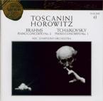 BRAHMS - Horowitz - Concerto pour piano et orchestre n°2 en si bémol maj