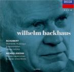 SCHUBERT - Backhaus - Six moments musicaux, pour piano op.94 D.780