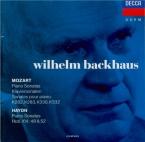 MOZART - Backhaus - Sonate pour piano n°12 en fa majeur K.332 (K6.300k)