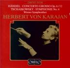 HAENDEL - Karajan - Concerto grosso en si mineur op.6 n°12 HWV.330 Live Wien 17 - 11 - 1954