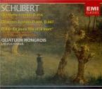 SCHUBERT - Quatuor Hongroi - Quintette à cordes à deux violoncelles en d