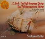 BACH - Richter - Le clavier bien tempéré, Livres 1 et 2 BWV 846-893