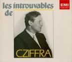 Les introuvables de Cziffra