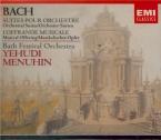 BACH - Menuhin - Quatre suites pour orchestre BWV 1066-1069