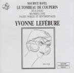 RAVEL - Lefébure - Le tombeau de Couperin, pour piano