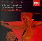 LISZT - Muti - Faust symphonie, pour orchestre, ténor et choeur ad lib. S