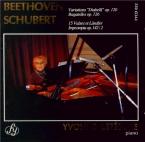 BEETHOVEN - Lefébure - Variations Diabelli, trente-trois variations pour