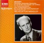 MOZART - Furtwängler - Sérénade n°10, pour instruments à vent en si bémo