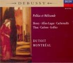 DEBUSSY - Dutoit - Pelléas et Mélisande, drame lyrique avec orchestre L