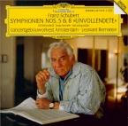 SCHUBERT - Bernstein - Symphonie n°8 en si mineur D.759 'Inachevée'