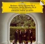 BRAHMS - Emerson String - Quatuor à cordes n°1 en do mineur op.51 n°1