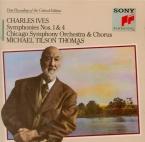 IVES - Tilson Thomas - Symphonie n°1 en ré mineur